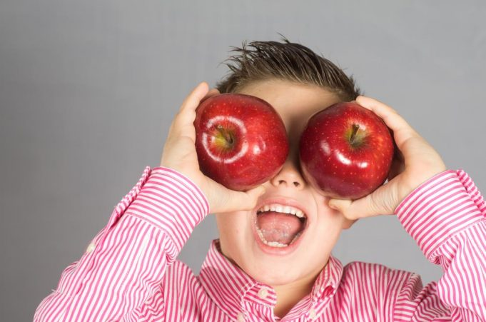 Apple Based Healthy Snack For Kids