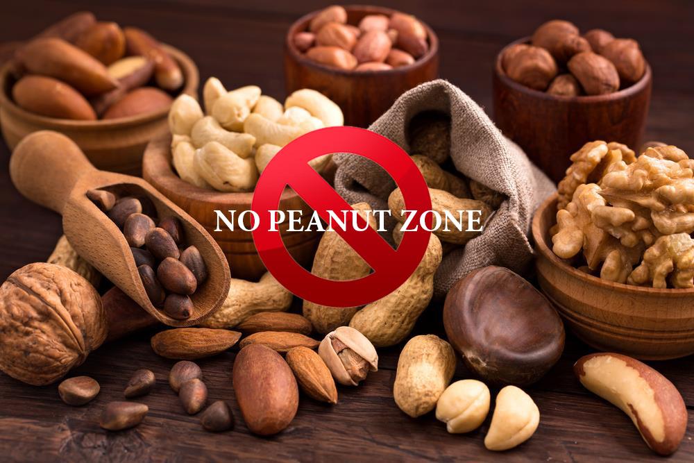 No Peanut zone