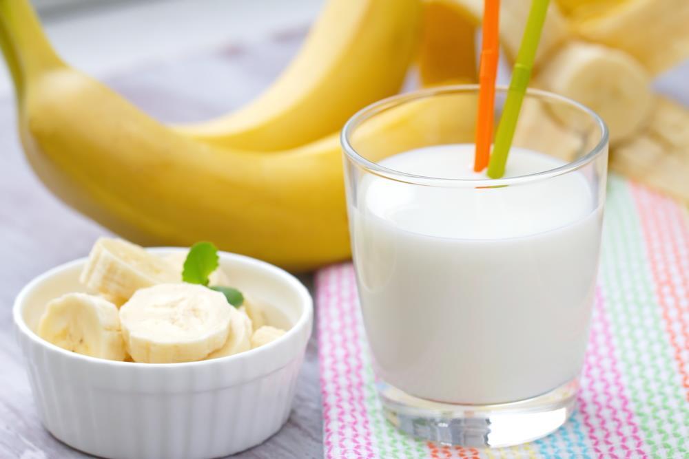 Bananas in Milk