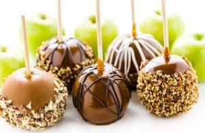 Apple nut poppers